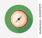 Mariner's Compass Flat Round...