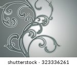 beautiful abstract background... | Shutterstock . vector #323336261