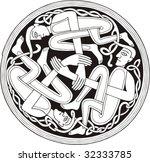 ethnic symbol   Shutterstock .eps vector #32333785