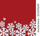 christmas and new year's... | Shutterstock .eps vector #323339639