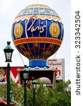 las vegas  nv  25 august 2013 ... | Shutterstock . vector #323342504