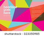 book cover background design... | Shutterstock .eps vector #323350985
