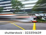 orchard road  singapore  ... | Shutterstock . vector #323354639