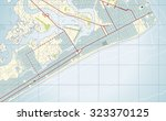 vector illustration of map of...