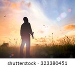 world environment day concept ... | Shutterstock . vector #323380451