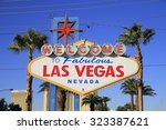 las vegas  nevada   oct ... | Shutterstock . vector #323387621