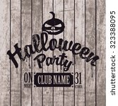 Poster For Halloween Party On...