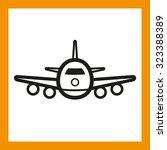 omni icon series  passenger... | Shutterstock .eps vector #323388389