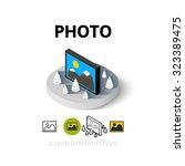 photo icon  vector symbol in...