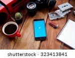 chiangmai  thailand  oct 04 ... | Shutterstock . vector #323413841