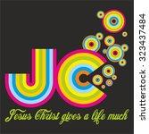 jesus christ | Shutterstock .eps vector #323437484