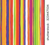 Abstract Colorful Stripes...