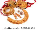 all mix indian traditional gold ... | Shutterstock . vector #323449535