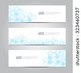 vector design banner technology ... | Shutterstock .eps vector #323460737