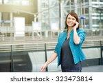portrait of a smiling older... | Shutterstock . vector #323473814