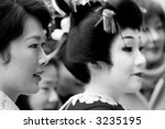 japanese women. | Shutterstock . vector #3235195