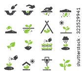plant icon | Shutterstock .eps vector #323529941