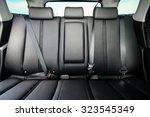 back passenger seats in modern...   Shutterstock . vector #323545349