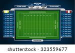 american football field with... | Shutterstock .eps vector #323559677