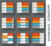 infographics design template.... | Shutterstock .eps vector #323640299