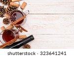 mulled wine | Shutterstock . vector #323641241