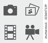 camera movie icons