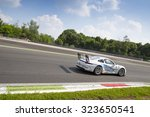 Small photo of Monza, Italy - May 30, 2015: Porsche 911 GT3 Cup of LEM Racing team, driven by PELLINEN Aku during the Porsche Carrera Cup Italia - Race in Autodromo Nazionale di Monza Circuit