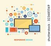 responsive concept design on...