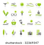 recreation and travel icons | Shutterstock .eps vector #32369347