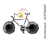 bicycle | Shutterstock .eps vector #323706365