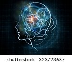 human tangents series. abstract ...   Shutterstock . vector #323723687