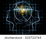 human tangents series. abstract ... | Shutterstock . vector #323723765
