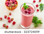 fruit smoothie drink made of... | Shutterstock . vector #323724059
