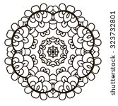 Ornamental Round Floral Patter...