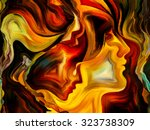 forces of nature series. design ... | Shutterstock . vector #323738309