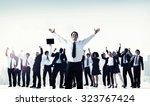 business people team success... | Shutterstock . vector #323767424