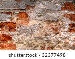 zeli brick wall - stock photo