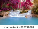 Waterfall In Rain Forest  Tat...