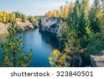 Landscape With Marble Quarry I...