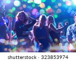party  holidays  celebration ... | Shutterstock . vector #323853974