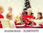 family  holidays  generation ... | Shutterstock . vector #323854595