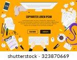 Copywriter Work Desktop Top...