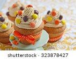 Peanut Butter Cupcakes...