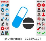 medication vector icon. style... | Shutterstock .eps vector #323891177