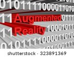augmented reality is presented... | Shutterstock . vector #323891369