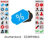 discount coupons vector icon.... | Shutterstock .eps vector #323894861