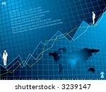 an abstract financial... | Shutterstock .eps vector #3239147