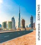 Dubai  Uae   Feb 08  Skyline...