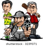 Maffia clip art vector maffia 1 graphics - Blood gang cartoon ...