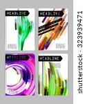 flyer  cover  business card... | Shutterstock .eps vector #323939471